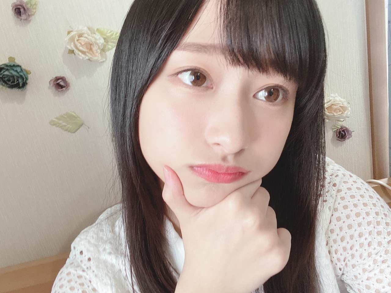 影山優佳ちゃんの「ぴぴっ」
