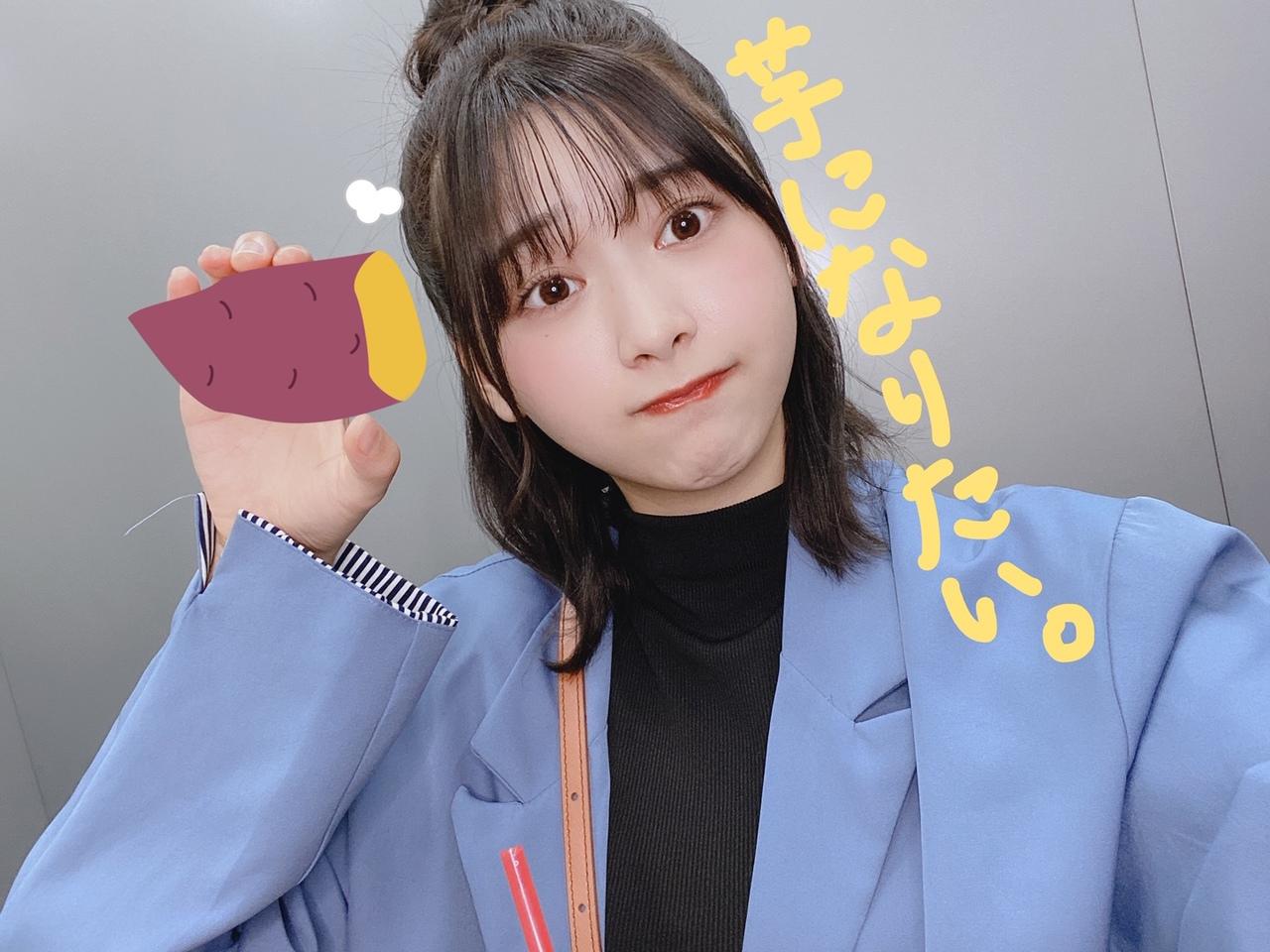 富田鈴花ちゃんの「芋になりたいの💿アルバム発売まであと3日💿」